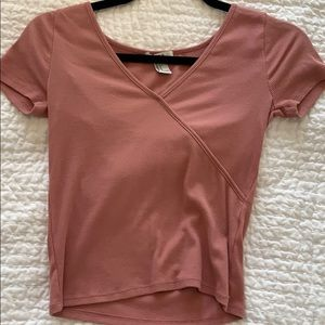 pink forever 21 tee - size small